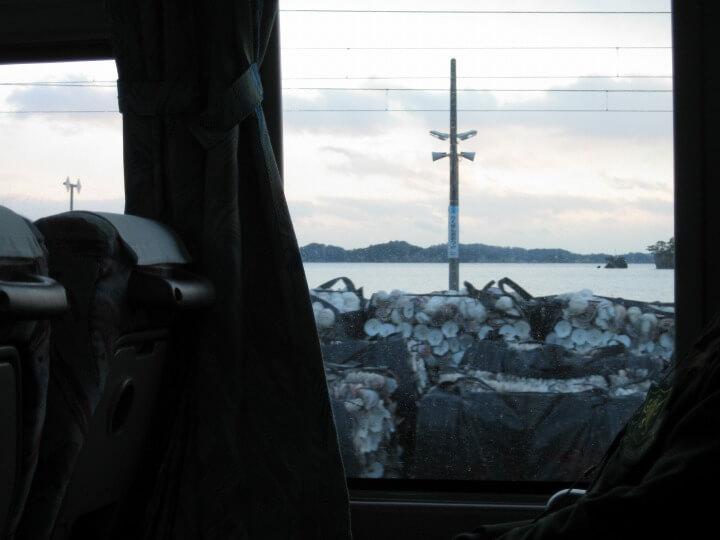 仙石線,代行バス